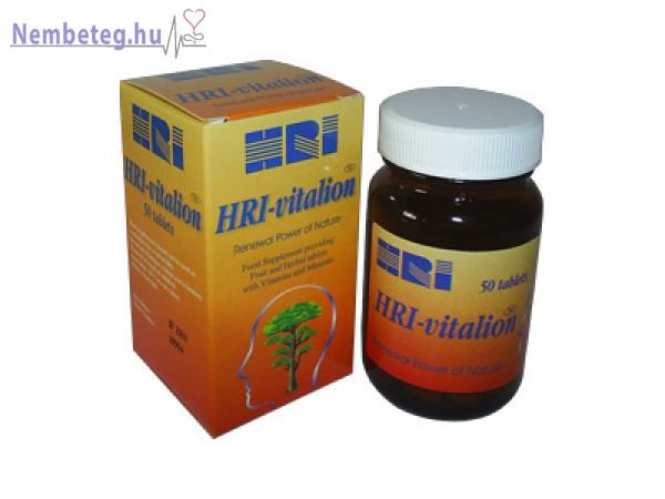 HRI-vitalion, érszűkület kezelése