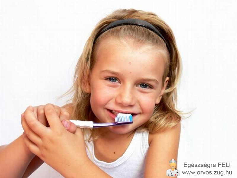 A fogmosás elengedhetetlen már gyermekkorban is