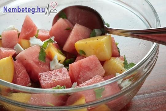 A folyadékszükséglet egy része gyümölcsökkel is pótolható