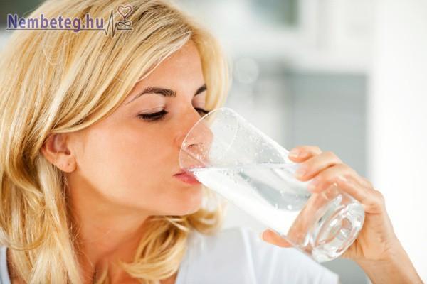 A megfelelő folyadékbevitel nagyon fontos egészségünk megőrzéséhez