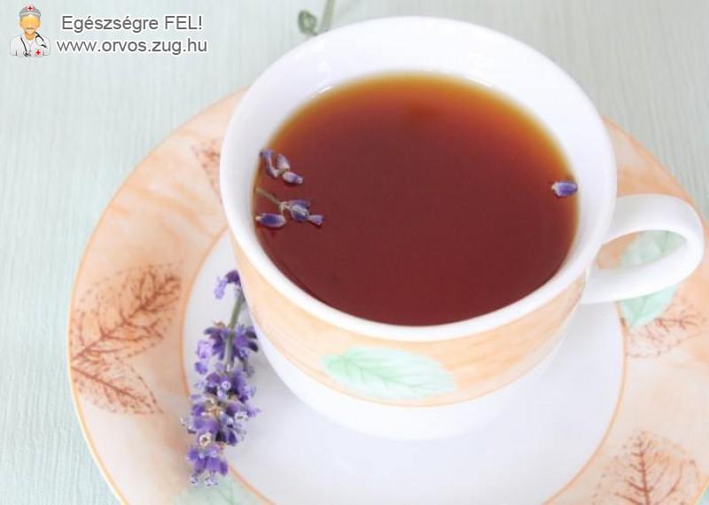 Álmatlanság ellen kiváló a levendula tea