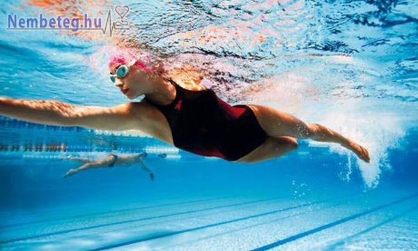 Az úszás az egyik legegészségesebb mozgásforma