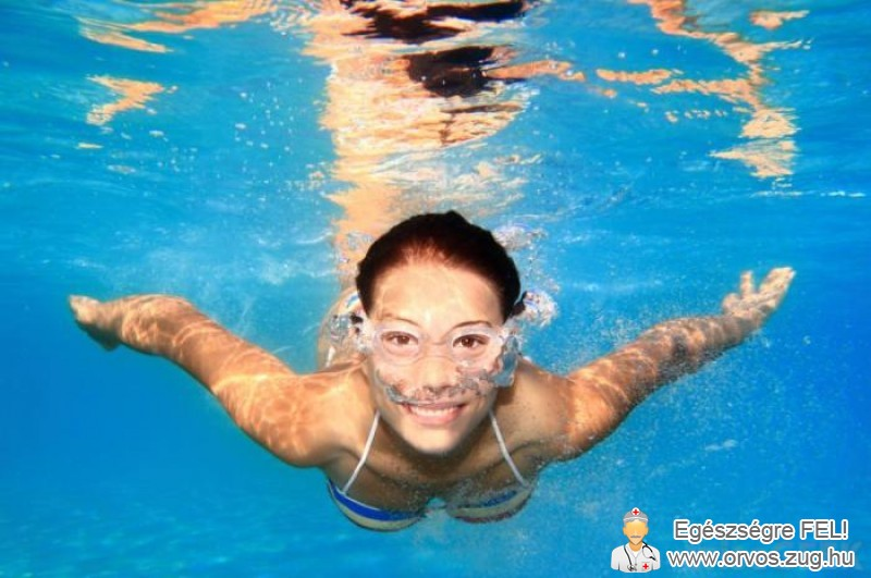 Az úszás felfrissíti a szervezetet