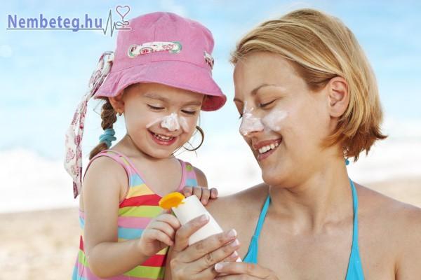 Bőrünk védelme érdekében mindig használjunk naptejet