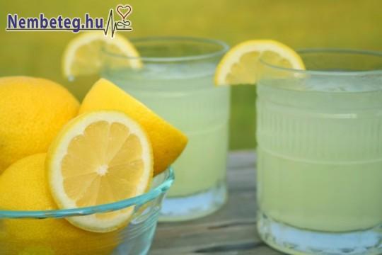 Folyadékfogyasztás a kánikulában: hűsítő limonádé