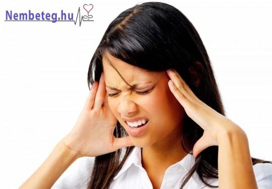 Kevés folyadék fogyasztása esetén, gyakrabban ér utol a fejfájás is