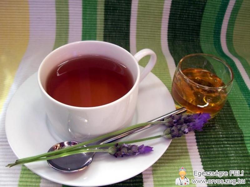 Levendula tea szorongás ellen