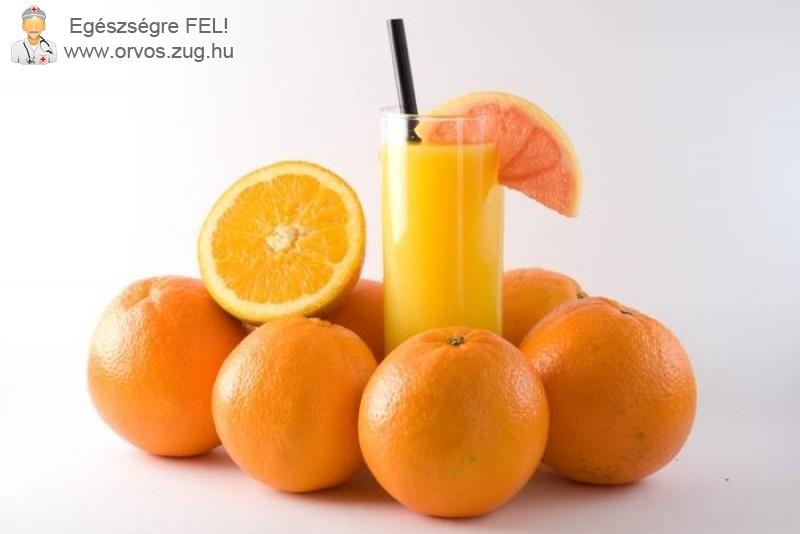 Narancsdiéta a kilók ellen