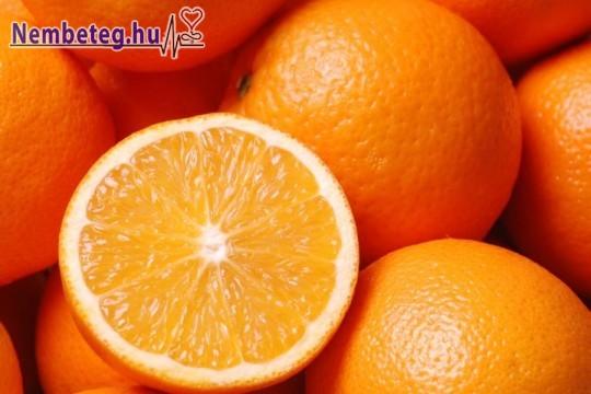 Narancsdiétával a karcsúságért