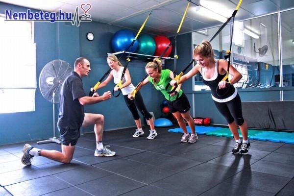 Rendszeres edzéssel könnyebben karbantarthatjuk testünket