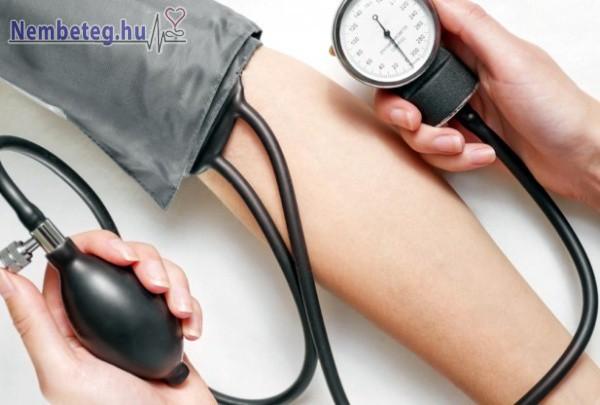 Rendszeres vérnyomásméréssel sok probléma megelőzhető
