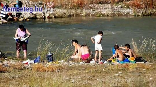 Strandoláskor legyünk óvatosak, többféle fertőzést is összeszedhetünk!