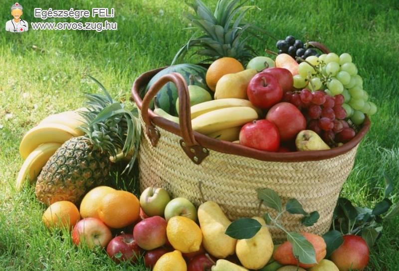 Szervezetünket gyümölcsökkel is mérgeteleníthetjük
