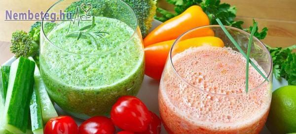 A zöldségturmix nem csak finom, egészséges is