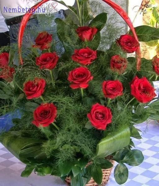 Rózsa csokor, csodaszép