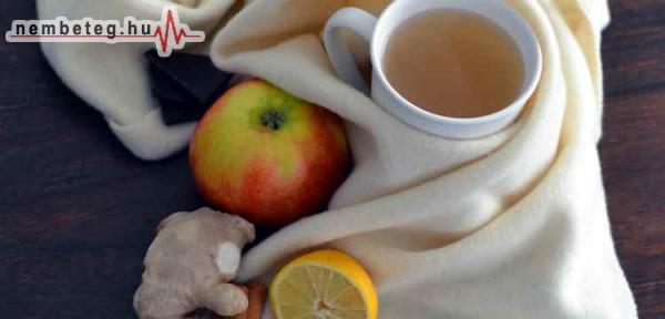 Megfázás ellen - tea, gyümölcs - vitamin