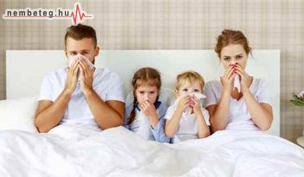 Beteg a család - megfázás, nátha ellen