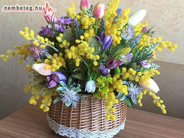 Tavaszi virág, egészség