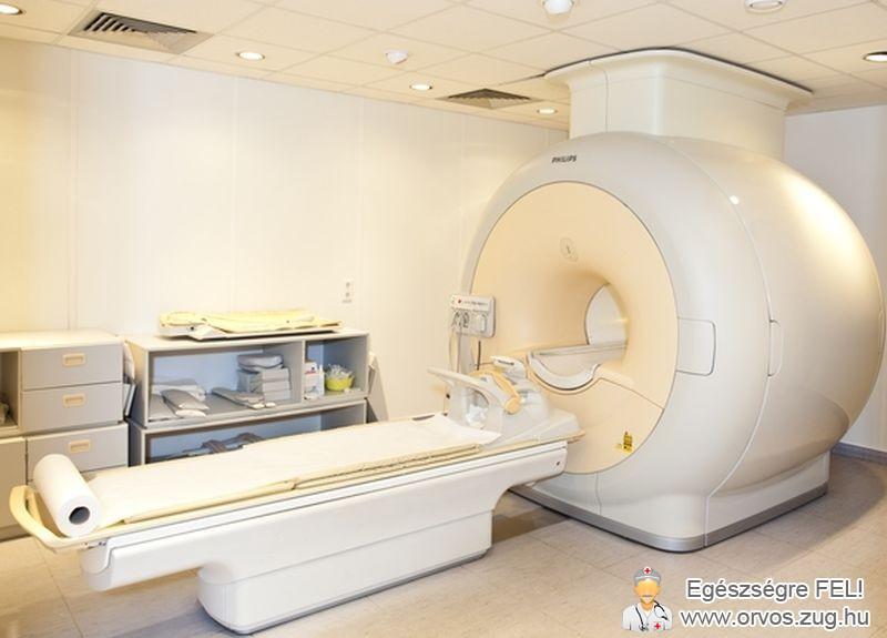 MR diagnosztikai készülék