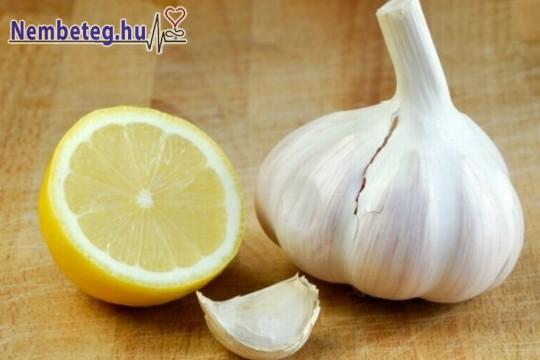 Értisztítás természetesen: citrom + foghagyma kúra