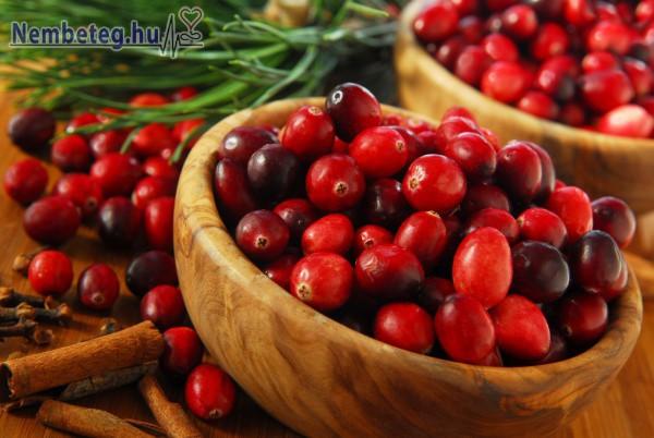 Vörös áfonya - gyógynövény