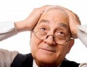 Az időskori memóriazavar tünetei és okai